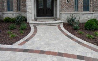 UNILOCK Brussels Block, Hardscaping Project in Arlington Heights