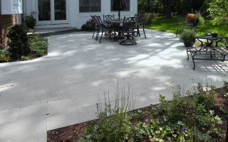 Natural Stone, Hardscaping Project in Arlington Heights