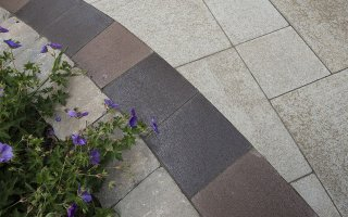 Brick Paving, Closeup