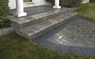 Brick Paving, House Entrance