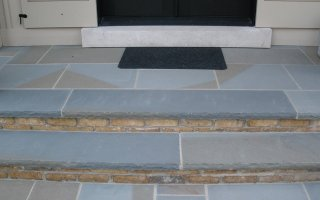 natural stone bluestone thermal treads steps