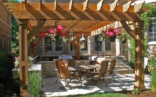 Pergola, Outdoor Structure